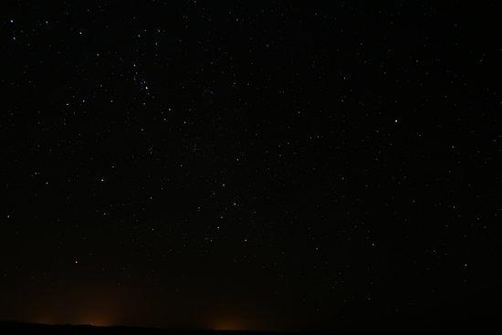 La Noria Travels - Day Tours: 砂漠の星空です。一眼レフではないので、肉眼で見るともっと綺麗です!天の川も初めて見ました!(写真には写ってないです)