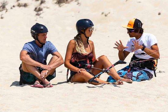 piloting- Naxos kitelife kitesurfing school
