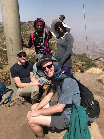 Enat Ethiopia Tours: The trekking crew with our guide Ashu...