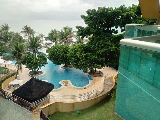 SERHS Natal Grand Hotel & Resort: Las habitaciones son confortables y la vista desde el balcon es mas que hermosa.