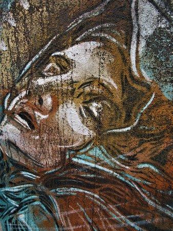 Fresque La Sainte