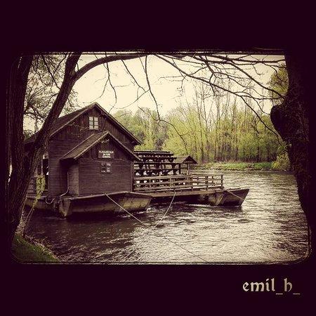 Plavajoči mlin na Muri, otok ljubezni, Ižakovci, Beltinci