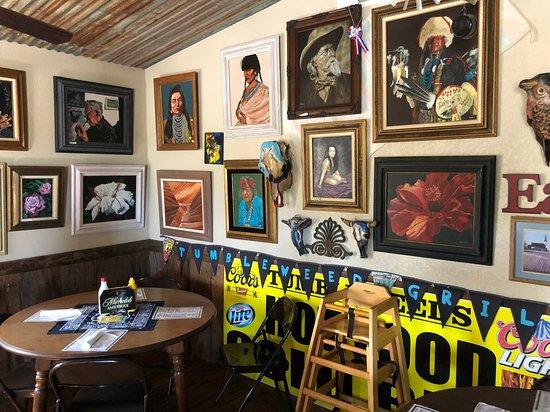 Texola, OK: Interior muy acogedor