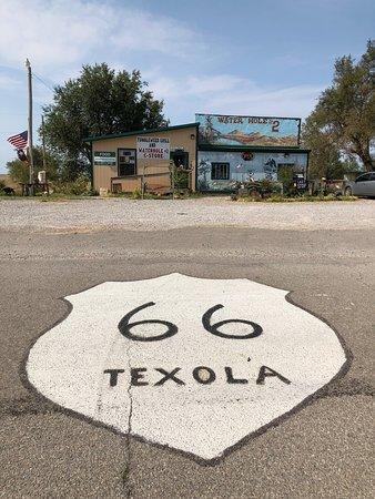Texola, OK: Digno de conservar