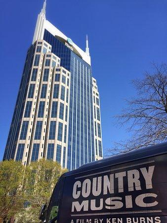 Downtown Nashville Walking Food Tour: batman building