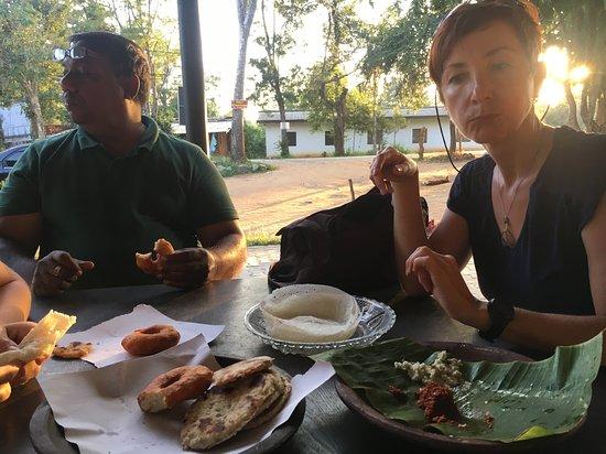 Déjeuner dans un restaurant traditionnel