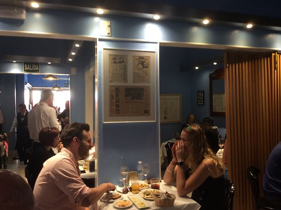 Restaurante Eslava: Inside