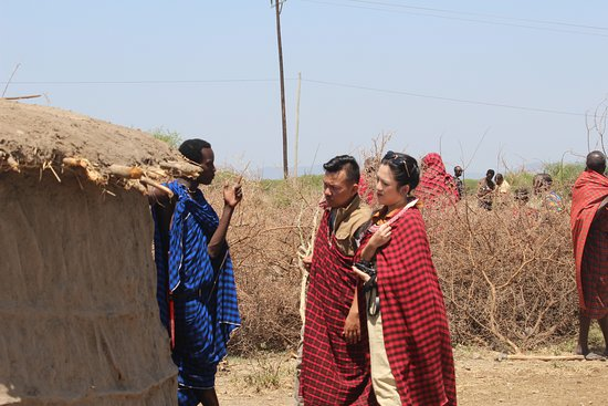 Masai village visit