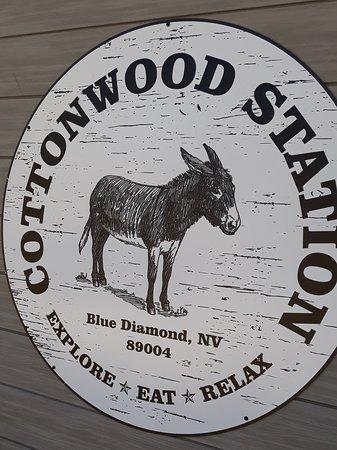 The restaurant logo