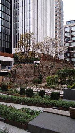 St Alphage Garden with ruins