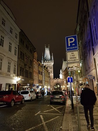 Lesser Town: Great area to explore at night