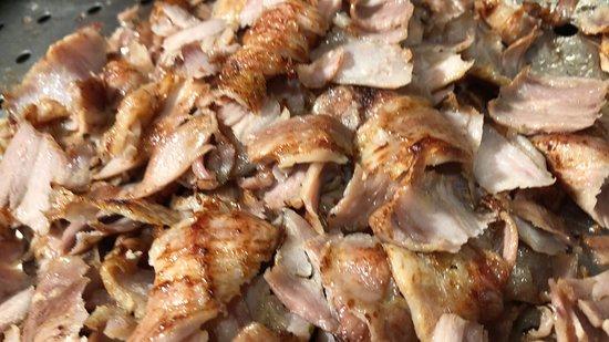 La viande kebab