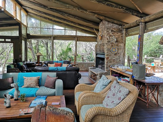 Sibuya Game Reserve: 4 -Star Luxury Tented Camps and Lodge, Hotels in Cannon Rocks