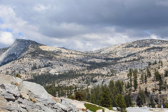 Olmstead Point, Yosemite National Park.