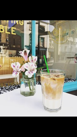 The best iced latte around