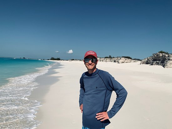 Caicos Cays Cruise: gorgeous Pine key . . . deserted. Stunning. all for us that day!