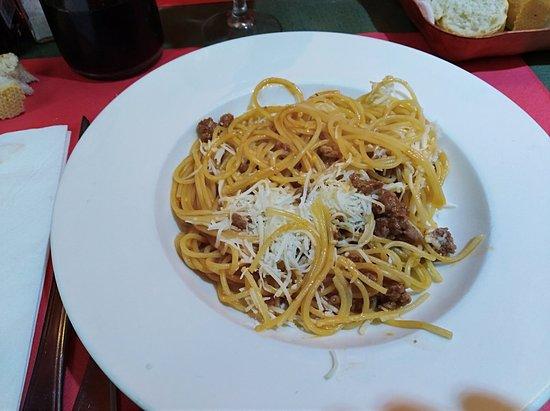 Blat Net: Spaghetti a la bolognesa