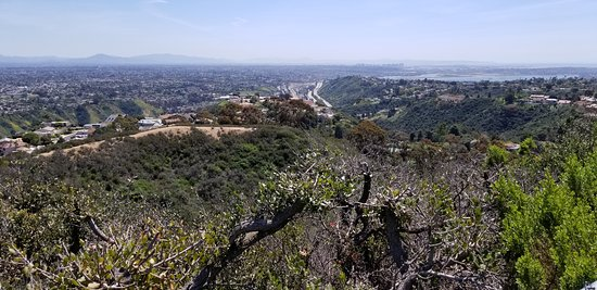 Looking South towards Mexico and San Diego Bay
