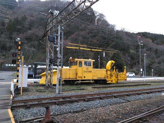 Echizen Tetsudo Katsuyama Station Platform