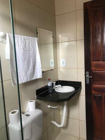 Vista 2 do banheiro