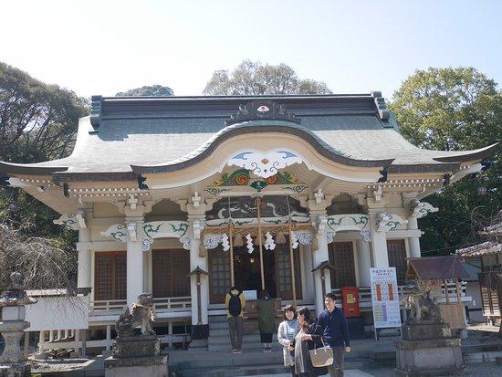 武雄神社本殿