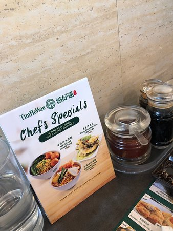 Special dishes