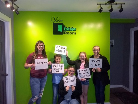 Vidor Escape Room