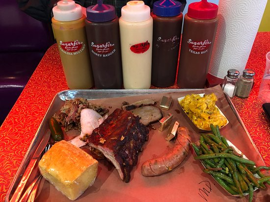 Sugarfire Smoke House: Meat Daddy and sauces