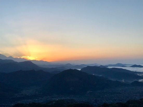 Sunrise at Sarangkot