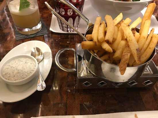 The Peak: Truffle fries