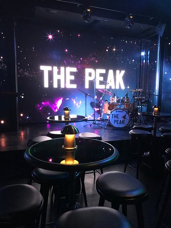 The Peak: the bar