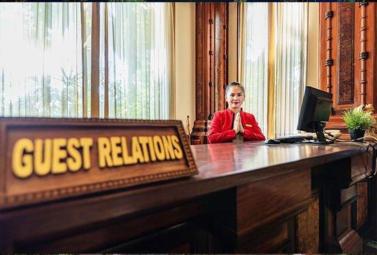 Empress Angkor Resort & Spa: Guest Relation