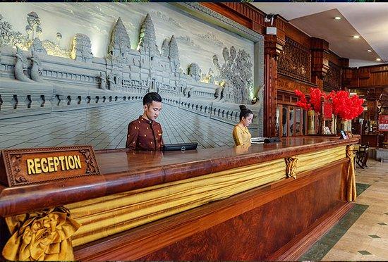 Empress Angkor Resort & Spa: Reception
