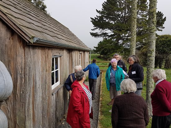 Learning about Rose's ancestors the Turner's who lived and loved in this tiny slab cottage.