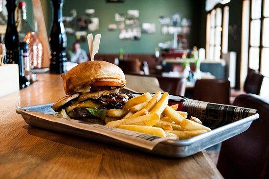 Gruberei: Bester Burger der Stadt - der Galloway Cheeseburger!