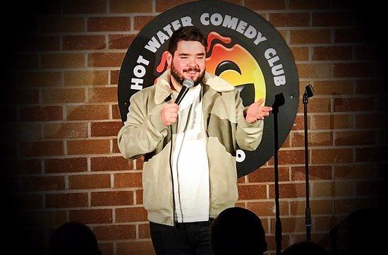 Adam Rowe at Hot Water Comedy Club