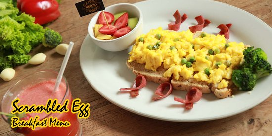 RENZO CAFE AND RESTO, Great place to start exploring the flavours  Pict. Breakfast Menu (8 am - 11 am)