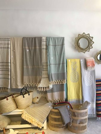 Baskets and Fabrics