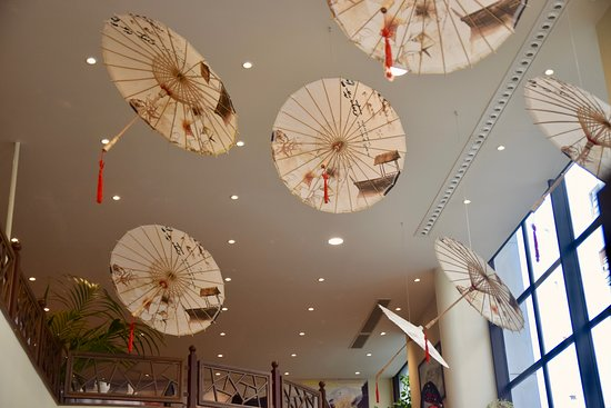 Now you can explore our unique decoration with one visit at JIANG NAN Chinese Restaurant!
