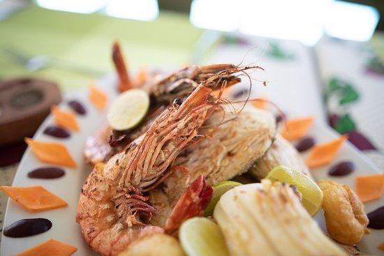 Aluna Nungwi: Our seafood platter
