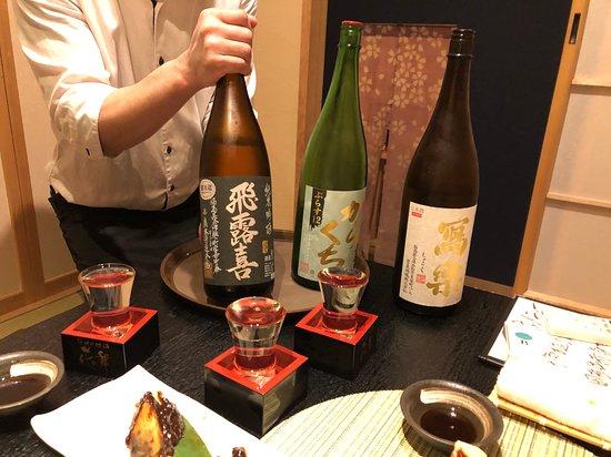 日本酒のラインナップもいいですね