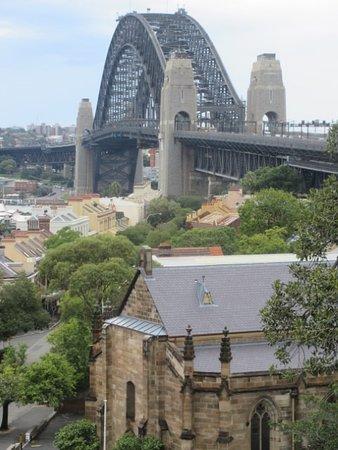 Sydney Bike Tours: Sydney Harbour Bridge from Observatory Hill