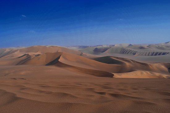 Bam, Iran: Rig e Yalan Sand Sea in Lut Desert