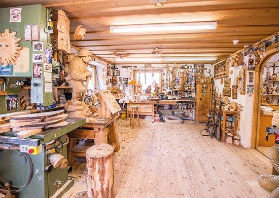 Holzschnitzerei Klaus Kirchler: Werkstatt