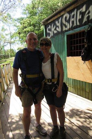 Recorrido con tirolina en San Cristóbal (confirmación con 48 horas de antelación) : Geared Up