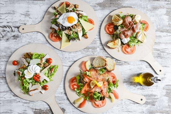 Le Panetier: Des salades fraîches et de saisons