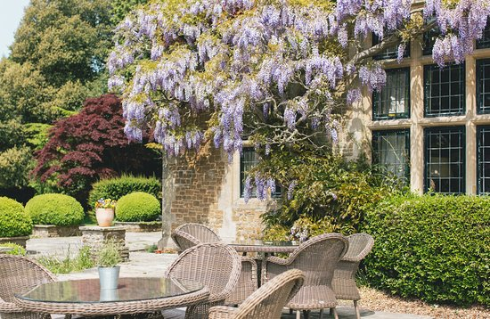 Enjoy a meal on the Terrace under the wisteria. Grayshott Spa offers 47 acres of grounds and is adjacent to National Trust Ludshott Common for nature walks. More than just a spa...