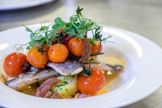 Restaurant Legenstein: Zanderfilet, Fischgericht