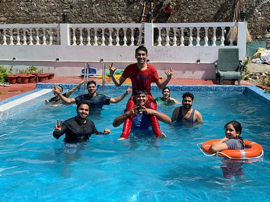 Bosco Cafe: With a Good Swimming Pool View, It's the best place for party also