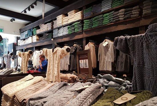 Aran Sweater Market, Lower Grafton Street, Dublin - Home of Aran, Since 1892